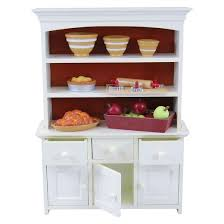 Dollhouse Furniture Kitchen The Queen U0027s Treasures 18 Inch Doll Furniture Off White Wood