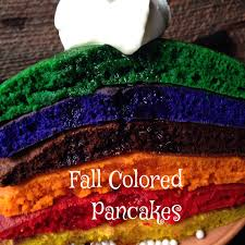 Fall Colored Pancakes Turnips 2 Tangerines