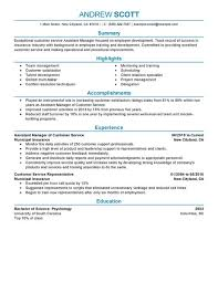 Sample Resume Manager by Simple Assistant Manager Resume Example Livecareer