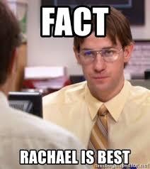 Dwight Meme Generator - fact rachael is best jim as dwight the office meme generator