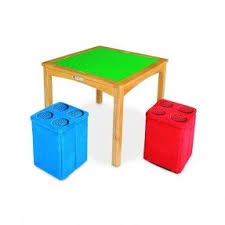 kids activity table with storage foter