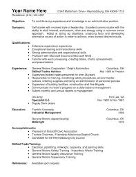 Example Hospitality Resume by Resume Example For Cover Letter For Job Application Computer