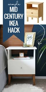 How To Make A Floating Nightstand Make Ikea Look Like Classic Mid Century With This Easy Tarva