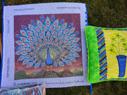 Kaffe Fassett Tapestry Cushion Kits Wendy U0027s Quilts And More March 2015