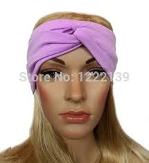 workout headbands turban polyester twist knot headband boho headbands hippie