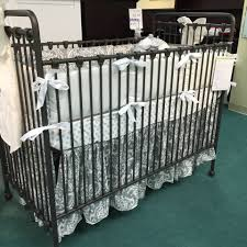 Baby S Dream Convertible Crib by Grey Damask Crib Bedding By Pine Creek On Baby U0027s Dream Iron Willa