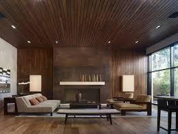 modern wood panels home design