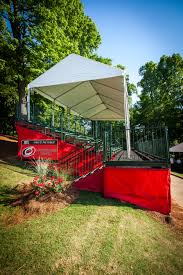 building a tent platform recently party reflections was the rental provider for the 2016