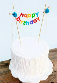 banner cake topper birthday cake banner birthday cake topper happy birthday cake