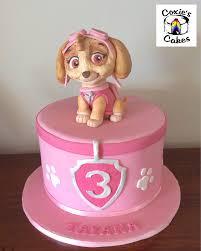 skye paw patrol cake handmade topper coxie u0027s cakes