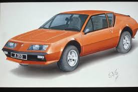 renault alpine a310 interior design study for a modern day renault alpine sports coupe