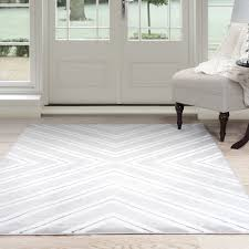 White Area Rug Lavish Home Kaleidoscope Gray White Area Rug Reviews Wayfair