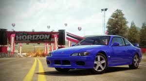 nissan silvia fast and furious forza horizon cars
