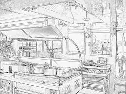 coloriage cuisine coloriage cuisine du 3 mats le belem fattal à imprimer pour les