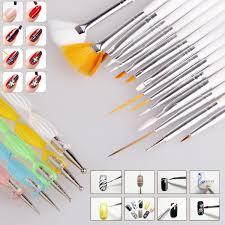 20pcs nail art design set dotting painting drawing polish