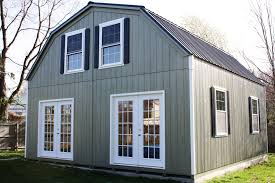 gambrel homes 2 story double wide modular garages and sheds the barn raiser