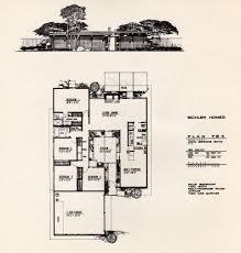 floor plan of an eichler home designed by john brooks boyd