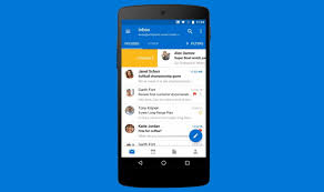 reset outlook when not working on android
