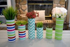 Flowers Glass Vase Glass Vase And Paper Wrapping Craft Hometalk