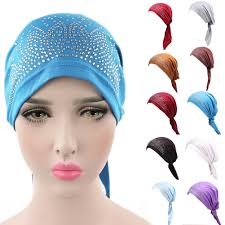 Hair Loss From Chemo Online Get Cheap Hijab Hair Bandana Aliexpress Com Alibaba Group