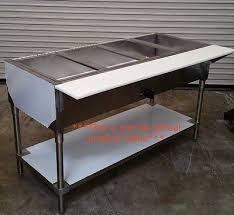 duke gas steam table duke 304 four compartment steam table w roll covers gas hose lp