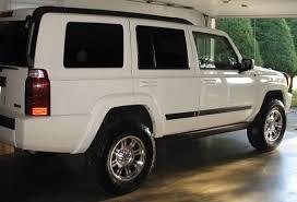 lifted jeep white muddterrain u0027s garage jeep commander forums jeep commander forum