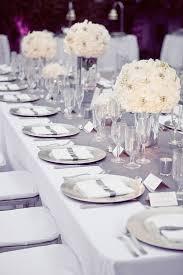 mariage et blanc deco mariage gris et blanc tendance boutik