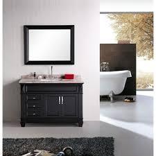 design element bathroom vanities design element hudson 48 single sink bathroom vanity set