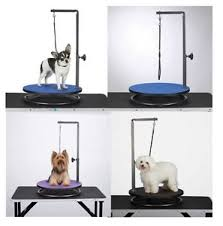 table top grooming table small pet round rotating grooming tables dog groomer table for