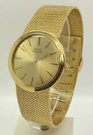 piaget automatic vintage piaget ultra thin automatic 18k yellow gold 90 3 grams