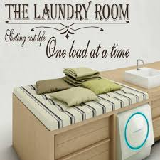 large laundry room quote sort life wall giant art sticker stencil
