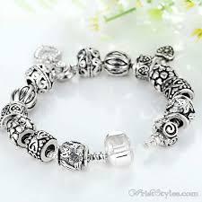 heart pendant bracelet images Heart pendant charm bracelet ba893382cb wrist styles jpg