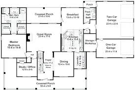 5 bedroom house plans 1 story 1 story 5 bedroom house plans 5 bedroom craftsman home plan bedroom