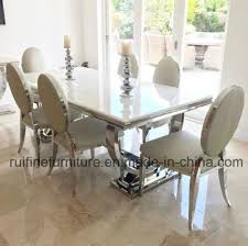 chrome dining room chairs china modern stainless steel chrome dining table snakeskin leather