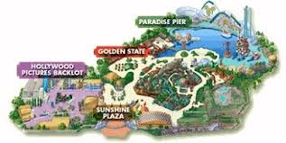 map of california adventure insights and sounds california adventure 16 years and