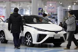 toyota japan toyota to recall all 2 800 mirai fuel cell cars on the road