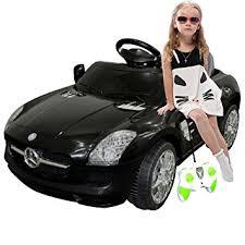 black mercedes amazon com black mercedes sls r c mp3 ride on car