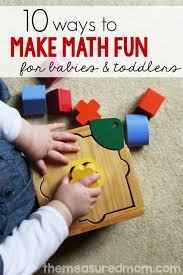 baby toddler math activities the measured