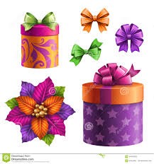 assorted gift boxes gift boxes and bows set of assorted clip objects