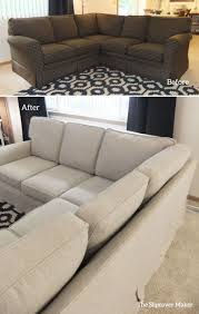 Grey Slipcover Sofa by Decorating Outstanding Sectional Slipcovers For Living Room