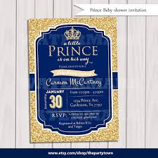 prince baby shower invitations prince baby shower invitation royal blue gold baby shower