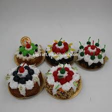 miniature food magnet kids clay crafts cake fridge magnet yiwu