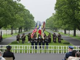 Color Guard Presentation Of The Flags Memorial Day 2016 At Brittany American Cemetery American Battle