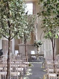 wedding trees palmbrokers events portfolio white wedding blossom trees
