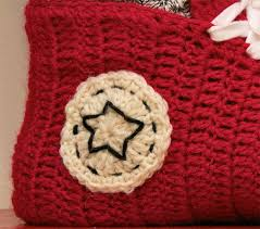 pattern crochet converse slippers how to make crochet converse slippers crochet handimania