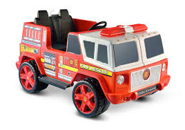 jeep fire truck amazon com kid motorz fire engine 2 seater toys u0026 games