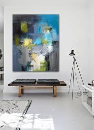 Best Living With Original Art Images On Pinterest Abstract - Modern art interior design