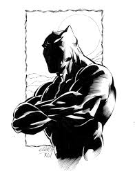 black panther by jerkmonger on deviantart
