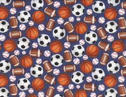 themed material soccer print fabrics quilting material cotton harts fabric