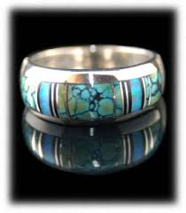 turquoise wedding rings wedding ring bands durango silver company